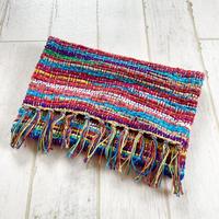 Rug Fub clutch bag -multicolor-
