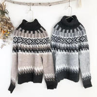 Nordic turtle knit