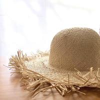 Rafia Fringe Hat