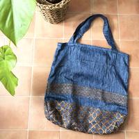 Eco Folding Tote Bag    - Denimu-