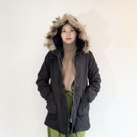 Military coat  ライナー付き / black
