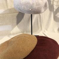 ベレー帽 wool100%