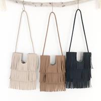 2way fringe shoulder bag