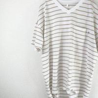 USA cotton v neck  T-shirt