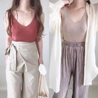 再入荷 knitsaw camisole