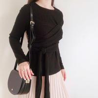 layered lib knit
