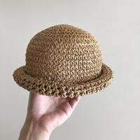 round straw hat
