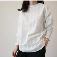 即納/race blouse