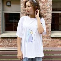 ドローイングアートTシャツ