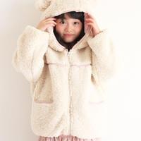 【KIDS】モコくま×ダウンベストSET petite ma cheri