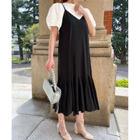 bicolor layered onepiece