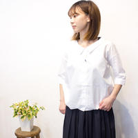 "Kelen(ケレン)Hem tuck blouse ""Tyde"""