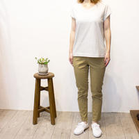 LAITERIE(レイトリー)ふわふわ天竺フレンチスリーブTシャツ