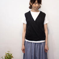 Gauze#(ガーゼ)2way cross vest