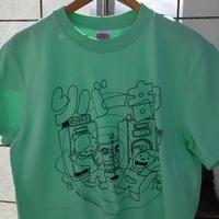 CD屋Tシャツ 『リバー部(メロンxブルー)』
