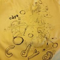 cdyaガールTシャツ