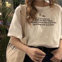 ロゴTシャツ 4色展開