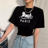 PARISロゴTシャツ 2色展開