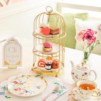 """""""スイーツ&セイボリー""""   L' AVENUE × Sweet Home Afternoon Tea Set1名様用"""