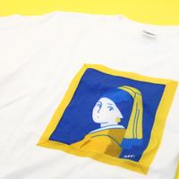 Tシャツ(S)フェルメール「真珠の耳飾りの少女」