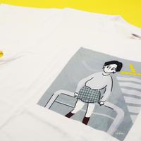 Tシャツ(M)「待ち合わせ」