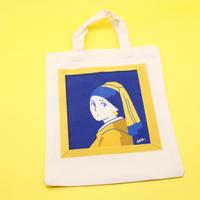 トートバック:フェルメール「真珠の耳飾りの少女」