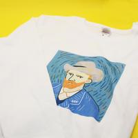 長袖Tシャツ(M)「ゴッホ」