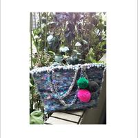 カラフル毛糸 トートバッグ