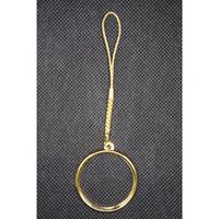 31mmメダル用根付ホルダー ゴールド色