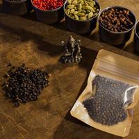 ブラックペッパー25g【最高品質オーガニックブラックペッパー・スリランカ産】Organic Black Pepper