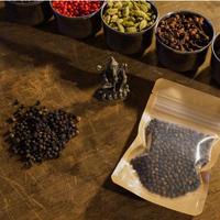 ブラックペッパー25g【最高品質オーガニックブラックペッパー25g・スリランカ産】Organic Black Pepper