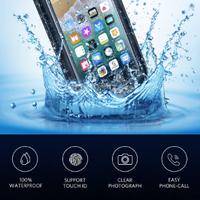 防水スマホケース iphone android 水中で使用可能 カード入れ 丈夫 おしゃれ