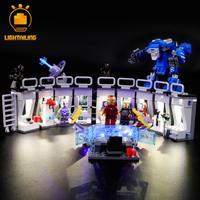 レゴ スーパー・ヒーローズ アイアンマンのホール・オブ・アーマー 76125 互換 LEDライトキット バッテリーボックス ライトアップ セット