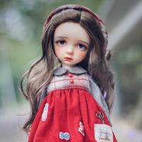 球体関節人形 幼女 1/6 本体+眼球+メイクアップ済み BJD カスタムドール 女の子 かわいい 小さい 美少女 選べる6色