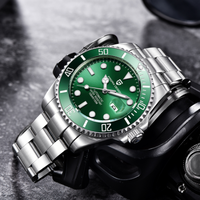 PAGANI DESIGN メンズ腕時計 10気圧防水 自動巻き 機械式 日付表示 ステンレスベルト パガーニデザイン コスパ抜群 高性能 選べる3色