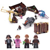 レゴ互換 ファンタスティック・ビースト ニュートの魔法動物アドベンチャー 75952 フィギュア LEGO風 ブロックセット 718ピース