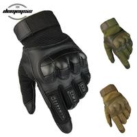 タクティカルグローブ フルフィンガー スマホ対応 タッチスクリーン ナックル サバゲー ペイントボール エアガン 手袋 3色から選択可能