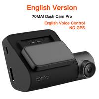 70mai ドライブレコーダー 1944p 16GB SDカード 140°広角 監視カメラ ボイスコントロール WDR 駐車監視 24時間 高性能 ダッシュカム 音声 英語 ロシア語