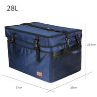 【TOMSHOO】保冷バッグ クーラーボックス 28L 断熱 保温にも ポータブル キャンプ【アウトドア】