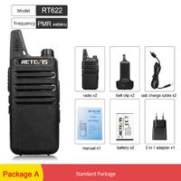 RETEVIS トランシーバー セット RT622 ラジオ USBケーブル 2in1アダプター ベルトクリップ付き 高性能 2個セット