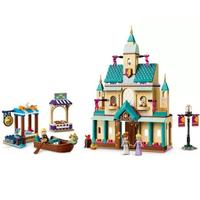 レゴ互換 アナと雪の女王2 アレンデール城 41167 アナ雪 お城 ボート ディズニープリンセス LEGO風 ブロックセット 知育玩具