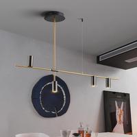 【ペンダントライト】 キッチン カフェ 調色付き 4灯 LED 【123cm】