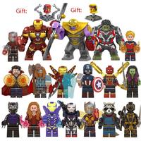 レゴ互換 アベンジャーズ ミニフィグ 18体 マイティソー ハルクバスター アイアンマン スパイダーマン マーベル LEGO風