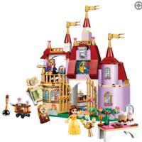 レゴ互換 ディズニー ベルの魔法のお城 41067 ブロックセット 互換品 LEGO風  知育玩具 376ピース
