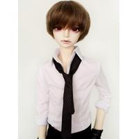 球体関節人形 BJD 服 衣装 パンツ+シャツ+ネクタイ 1/3 1/4 1/6 カスタムドール 人形用 選べる3サイズ