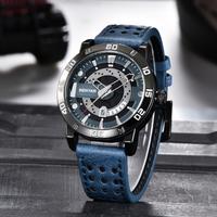 【高級ブランド】 BENYAR メンズ ビジネス 腕時計 防水 本革 レザーベルト クォーツ 日付表示 【選べる3色】