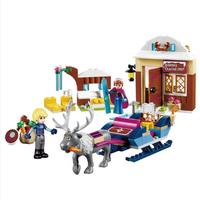 レゴ互換 アナ雪 アナとクリストフのアドベンチャー プリンセス トナカイ アナと雪の女王 ブロックセット LEGO風 180ピース