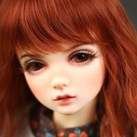 球体関節人形 1/4 かわいい 女の子 本体+眼球+メイクアップ済み カスタムドール 美少女 かわいい 手作り 選べる4色