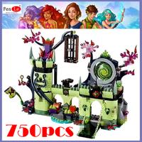 レゴ互換 エルフ ゴブリンキングの城 41188 互換品 ブロックセット LEGO風  知育玩具 750ピース