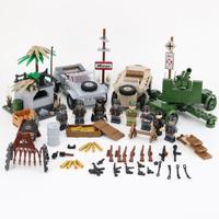 レゴ ドイツ軍 小型軍用車両 ミニフィグ+武器付き キューベルワーゲン Typ 82 レゴ互換品 特殊部隊 第二次世界大戦 WW2 軍隊 兵士 兵隊 ミリタリー LEGO風